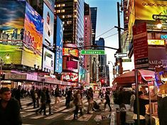 42nd Street and Broadway, New York City | Flickr - Photo Sharing!
