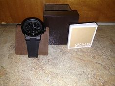 Men's Michael Kors Black Watch- Used Once!