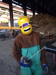 Funny pictures about Minion Welding Mask. Oh, and cool pics about Minion Welding Mask. Also, Minion Welding Mask photos.