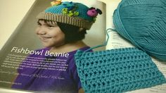 Fishbowl Beanie Crochet Along - Get your kit and #crochet his adorable #hat with me!
