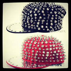 Spiked hat urban fashion
