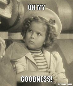 shirley temple | Shirley Temple Meme Generator - DIY LOL