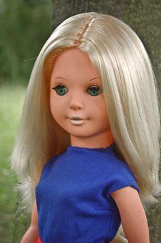 alte ddr Modepuppe Puppe mit Brust ca. 50 cm schlank SELTEN Schlafaugen   eBay