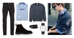 """""""Classic Combo"""" by daniel-wellington ❤ liked on Polyvore featuring Paul Smith, SUIT, Daniel Wellington and Turnbull & Asser"""