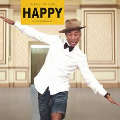 Happy- Pharrell Williams ~ Love this cute little 'Cuz I'm Happy' song on Despicable me. Watched Pharrell Williams on news interview this morning. He's going places! Pharrell Williams Happy, Happy Pharrell, Nerd Pharrell, Best Party Songs, Best Songs, Maisie Williams, Alphaville Forever Young, Happier Lyrics, Katy Perry