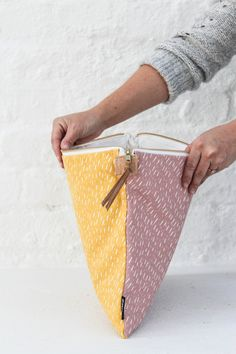 Fabric Laptop Sleeve - Zana