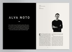 Geiger Magazine Layout #layout #design #inspiration