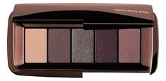 Hourglass Graphic Eyeshadow in Expose - Ivory, Plum Taupe, Silver Gunmetal, Black Violet, Plum Mauve