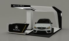 Mercedes-Benz New C-Class Booth on Behance