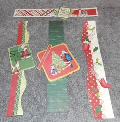 Christmas borders--uses old Creative Memories stickers