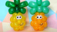 Веселый ананас из шаров / Funny pineapple balloon