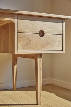 Woodworking Program urban works - desk detail - Tap the link to shop on our official online store! You can also join our affiliate and/or rewards programs for FREE! Woodworking Furniture, Modern Furniture, Diy Furniture, Furniture, Wood Furniture, Furniture Inspiration, Furniture Details, Cool Furniture, Contemporary Furniture