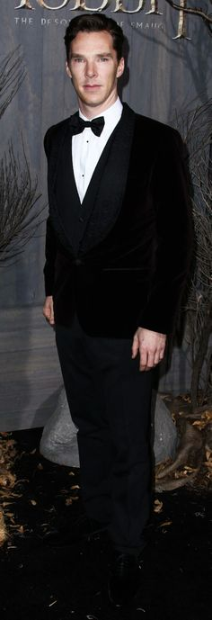 Benedict Cumberbatch--there are never too many photos of him in a suit or otherwise!
