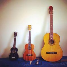 Mis pequeños #uke #ukelele #ukulele #guitar #clubukelelevalencia
