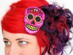 Hey, j'ai trouvé ce super article sur Etsy, chez https://www.etsy.com/fr/listing/85972914/sugar-skull-cheveux-clip-day-of-the-dead