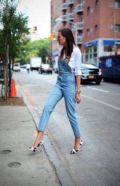 dungarees | we wore what