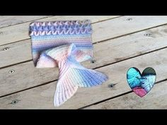 Cola de sirena  tejida a crochet facil parte 1 / Queue de sirène au crochet facil 1 - YouTube