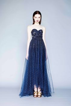 Marchesa Notte - Fall 2015 Ready-to-Wear - Look 4 of 17