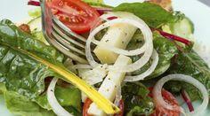 Receita simples de salada com acelga
