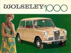 Mini Wolseley brochure.