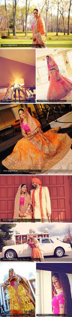 Indian Sikh Wedding photography. Couple photo shoot ideas