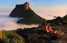 Pedra da Gávea - Acima das Nuvens - Above the Clouds - Rio de Janeiro