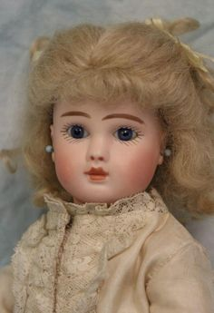 "10.5"" RARE ca.1870 Bebe Steiner Paris Fre A French Bisque Doll Stamped Body"