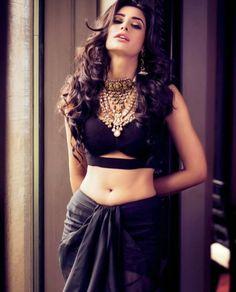 Nargis Fakhri wears the dhoti trend for Filmfare magazine. #Bridelan