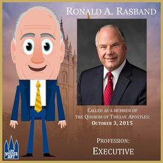 Elder Ronald A. Rasband was named an Apostle of The Church of Jesus Christ of Latter-day Saints on October 3, 2015.  .  .  #ElderRasband #ldsconf #lds #mormon #LDS #JesusChrist #Christian #quote #efy #sharegoodness