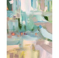 abstract art by paige kalena follmann