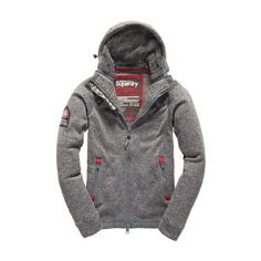 e029e0fcba4ef Shop Superdry Mens Storm Sideward Zip Hoodie in Mid Grey Marl. Buy now with  free delivery from the Official Superdry Store.