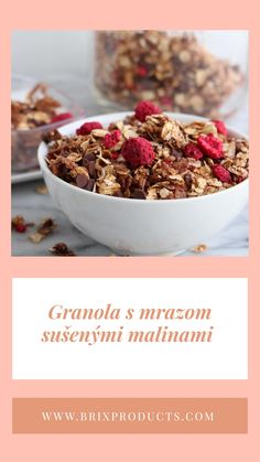 www.brixproducts.com Freeze Dried Fruit, Freeze Drying, Granola, Dog Food Recipes, Cereal, Frozen, Breakfast, Morning Coffee, Dog Recipes