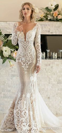 Romantic Bridal Dresses #romanticwedding