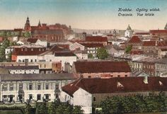 Postcards of the Past - Vintage Postcards of Krakow, Poland Krakow, Vintage Postcards, Poland, The Past, Mansions, House Styles, Places, Mansion Houses, Manor Houses