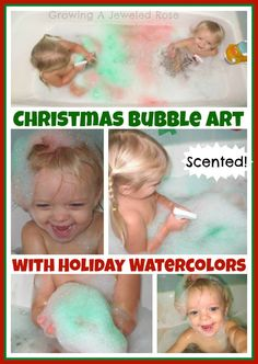 Food coloring and spray bottles