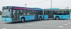Gelenkbus MB Citaro, Stadt Kusatsu/JAPAN