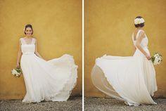 flowy dress / b