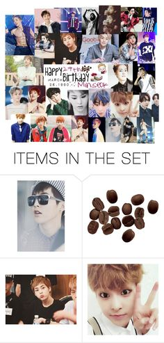 """Happy 27th Birthday Xiumin"" by carrie-lynn ❤ liked on Polyvore featuring art"