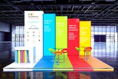 Intermedia Custom Build Exhibition Stand - Backlit Graphics