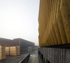 MoDus Architects, Günter Richard Wett · Office Addition, DAMIANI HOLZ&KO SpA