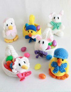 Easter Baskets and Toys Crochet Patterns [PA803] - $6.39 : Maggie Weldon, Free Crochet Patterns