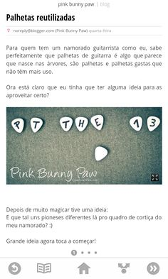 Pink Bunny Paw @ Google Currents Bunny Paws, Google, Projects, Pink, Design, Guitar Picks, Log Projects, Blue Prints