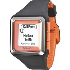 MetaWatch STRATA - Tangerine Smartwatch (MW3002) for iPhone and Android http://redire.ru/h/2038023631c1393d770a9950b8dfbab2