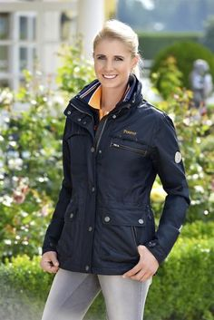 The Pikeur Berit Ladies Functional Jacket is available in Navy Blue. £174.00