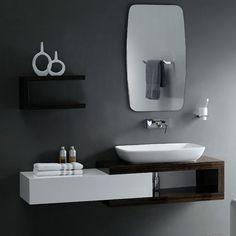 Modern Vanities for Small bathroom   Shower Remodel