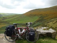 cycle touring wales