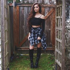 """My outfit for the party"" I smirk ~Sierra"