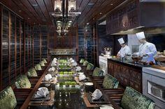 Private Dining Room at Mandarin Oriental, Macau.