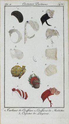 Costumes Parisien. c. 1802