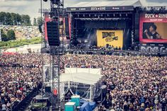 Rock am Ring 2017 with #RIEDEL tech for Crowd-Management and more... #RAR2017